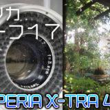 【作例紹介】ヤシカ・ハーフ17は日常を写したくなるカメラ【SUPERIA X-TRA 400】