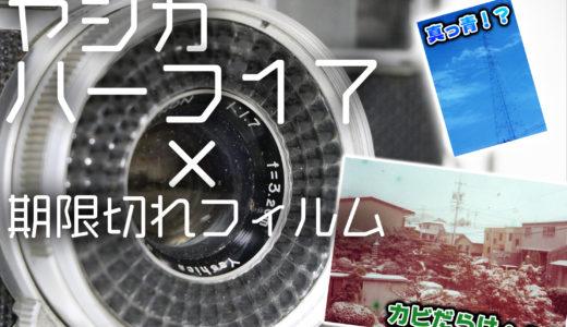 60年前のハーフカメラ『ヤシカ・ハーフ17』期限切れフィルム作例
