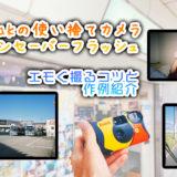 【誰でも簡単!】エモい写真を撮るコツを紹介♪ Kodak 使い捨てカメラ ファンセーバー作例 第二弾!